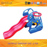 Kids' Animal Slide Plastic Toys with Basketball Stands (PT-036)