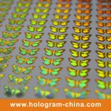 Golden Security Adhesive 3D Hologram Sticker