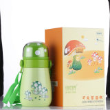 Double Wall Vacuum Stainless Steel Outdoor Flask Svf-400j Green Children