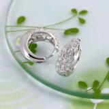 21718 Hot Selling Fashion Female Rhodium Silver Elegant Zircon Jewelry Earring