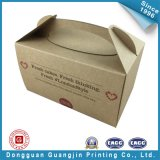 Brown Color Paper Cakes Packing Box (GJ-box141)