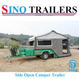 Heavy Duty Rear Open Camper Trailer