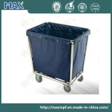 Stainless Steel Laundry Trolley with Wheels