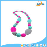 New Style Design Silicone Teether Toy Necklace Baby Teething Necklaces