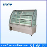 Refrigerated Bakery Showcase with Sliding Glass Back and Before
