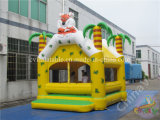 Tiger Forest Theme Inflatable Bounce House for Kids