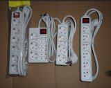 Germany Style Extension Socket Power Strip with Overload Protection
