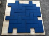 Interlocking Rubber Tiles Rubber Gym Floor Tiles Colorful Rubber Paver Square Rubber Tile