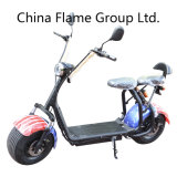 1000W 60V/30ah Harley Electric Scooter with Bluetooth F/R Suspension