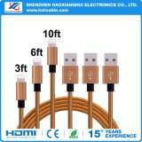 Hot Sale Coffee Lightning Cable Mfi
