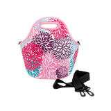 Fashion Printed Neoprene Lunch Cooler Bag with Shoulder Strap