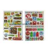 Self-Adhesive Advertisement Custom Colorful Kids 3D Sticker