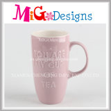 Lovely Hand-Printing Ceramic Mug Coffee Cup for Breakfast