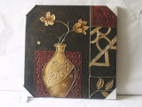 Classic Flower Adornment Design Family Canvas Painting