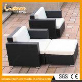 New Style Brown Outdoor Garden Furniture Lounge Rattan Corner Deck Sofa Set
