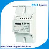 Mounting Three Phase Electronic Kwh Meter