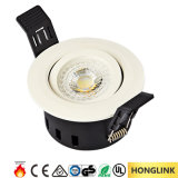 Ce 5W Dimmable LED Spotllight BS476 Fire Rated LED Downlight