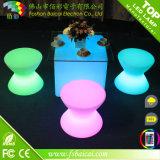 Long Lifetimepolyethylene Used LED Stuhl Stool