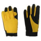 Micro Fiber Palm Spandex Back Mechanic Work Glove-7204