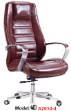Wooden Leather Office Furniture Metal Ergonomic Executive Boss Chair (A2014-4)