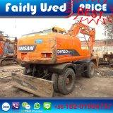 Good Condition Original Used Doosan Dh150W-7 Wheel Excavator