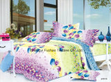 Colorful Flower Pattern Bamboo Microfiber Cheap Bed Sheet Set Bedding Set Home Textile