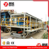 High Pressure Automatic Hydraulic PP Membrane Filter Press for Mining