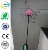 Metal Animal and Insect Crafts with Solar Light Garden Stick