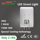 3years Warranty 60-150W COB Ultralight IP65 LED Street Lamp