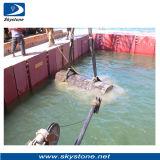 Diamond Wires for Concrete Underwater Cutting, Wire Sawing Underwater