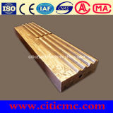 High Chrome and High Manganese Impact Crusher Blow Bars