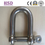 Stainless Steel European D Type Shackle