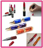 Hot Sale Lipstick Ballpoint Pen with Various Colors