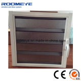 Aluminum Window with Shutter/Louver Frosted Glass with Screen