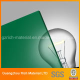 3mm Green Cast Acrylic Sheet for Advertising/Plastic PMMA Pelxiglass Board