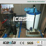 Low Temperature Flake Ice Machine with Higher Refrigeration Efficiency