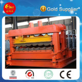 Export Standard Steel Roof Step Tile Roll Forming Machine