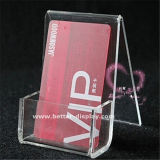 Clear Acrylic Plastic Name Card Holder