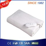 3 Temperature Setting Electric Heated Blanket with Polar Fleece Fabric