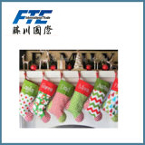 Promotional Christmas Plush Printing Stocking