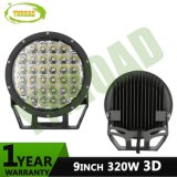 9inch Round 3D CREE 320W IP68 LED Offroad Driving Light