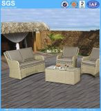 Garden Furniture Natural Color PE Rattan Sofa