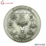 Custom Burma Military Souvenir Coin (LM1075)