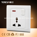 Switch Socket Functional Socket 13A with Neon