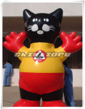 Big Cat Cartoon Inflatable Product Model for Sale