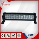 72W LED Light Bar for Automotive Truck off Road