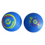 Colorful 8.5 Inch Rubber Playground Ball