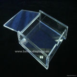 Clear Acrylic Box for Business Card with Lid (BTR-H3005)