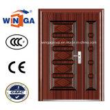 Middle Market Exterior Security Steel Metal Iron Door (W-SZ-07)