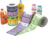 Rtry-320d 4 Color Sticker Label Paper Flexo Printing Machine